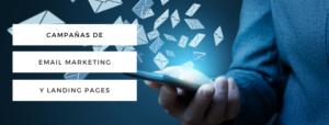 Campañas de email marketing y landing pages